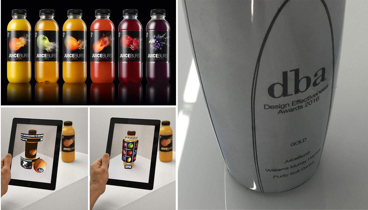 JuiceBurst WMH Blippar DEA2016 DBA