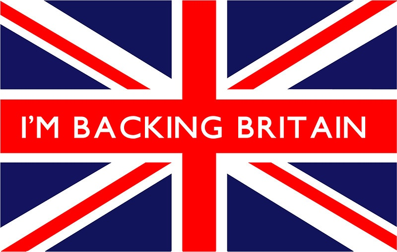 LOVE-HATE, I'M BACKING BRITAIN, WMH, WEB